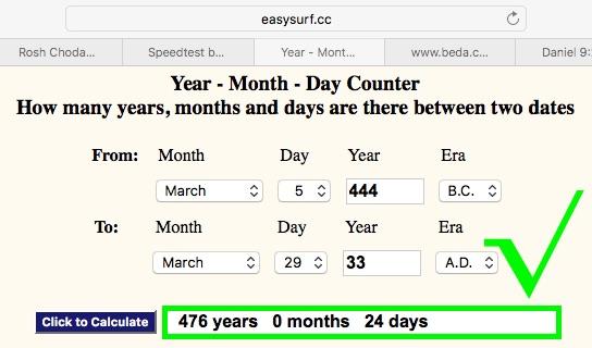 Calendar Count