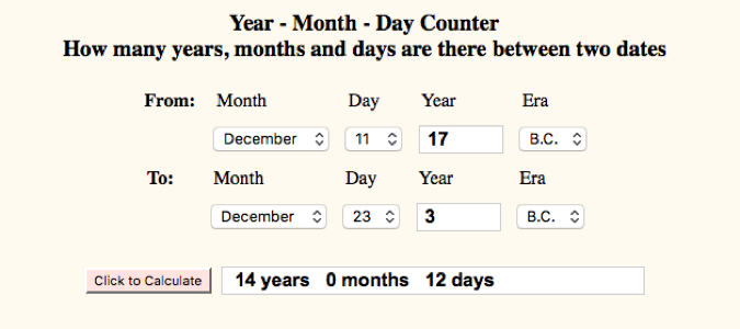 Number of Days - Birth to IC
